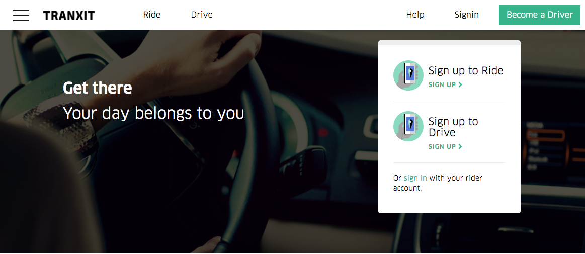 Start your own Uber-like venture with our Tranxit Uber Clone Script