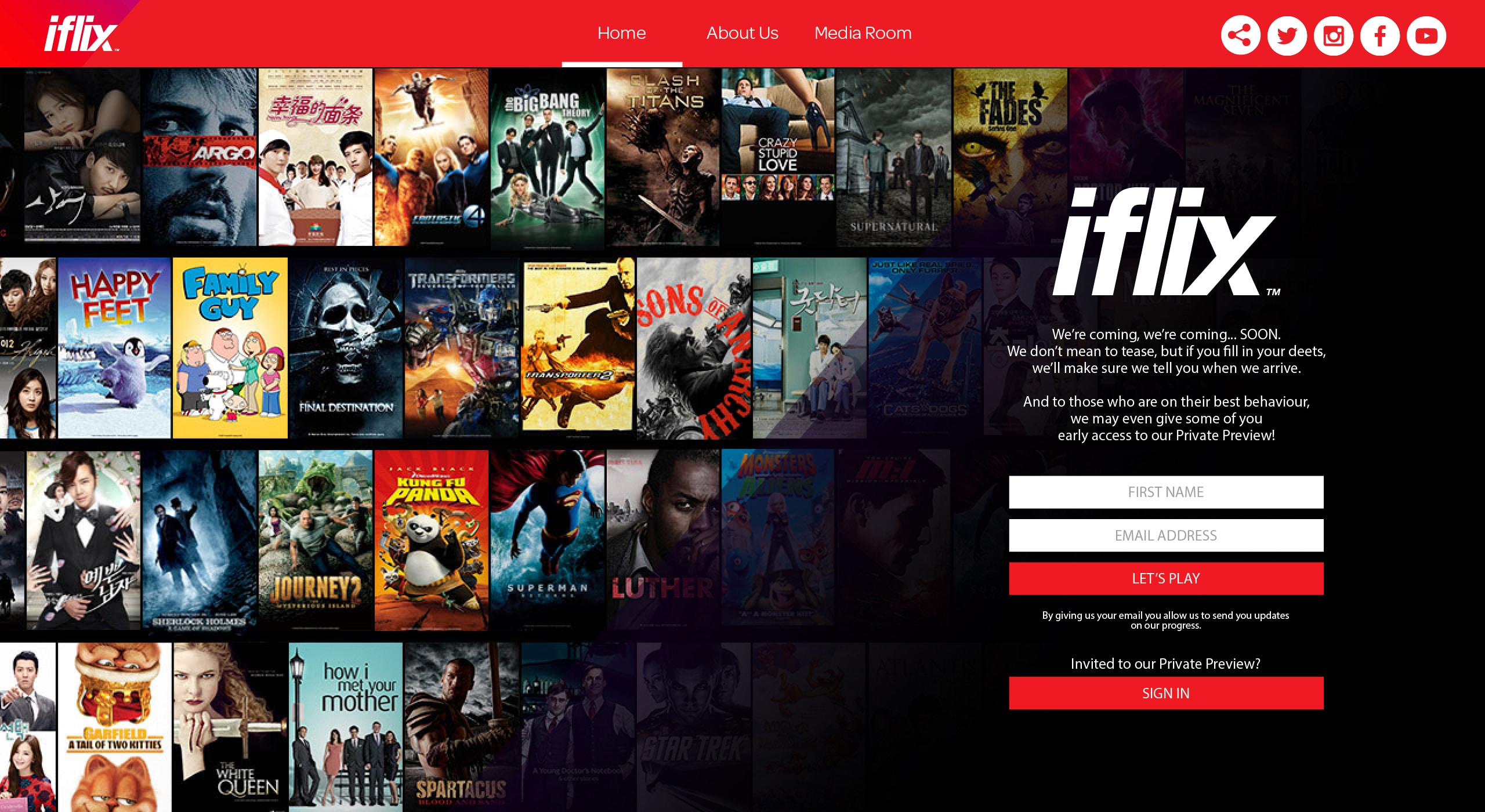 Netflix Clone – Iflix is valued at $500 million  Get the