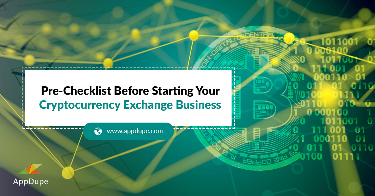 how to start a cryptocurrency exchange business