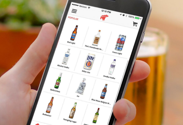 Drizzly – the new Uber for booze! An app to order alcohol online