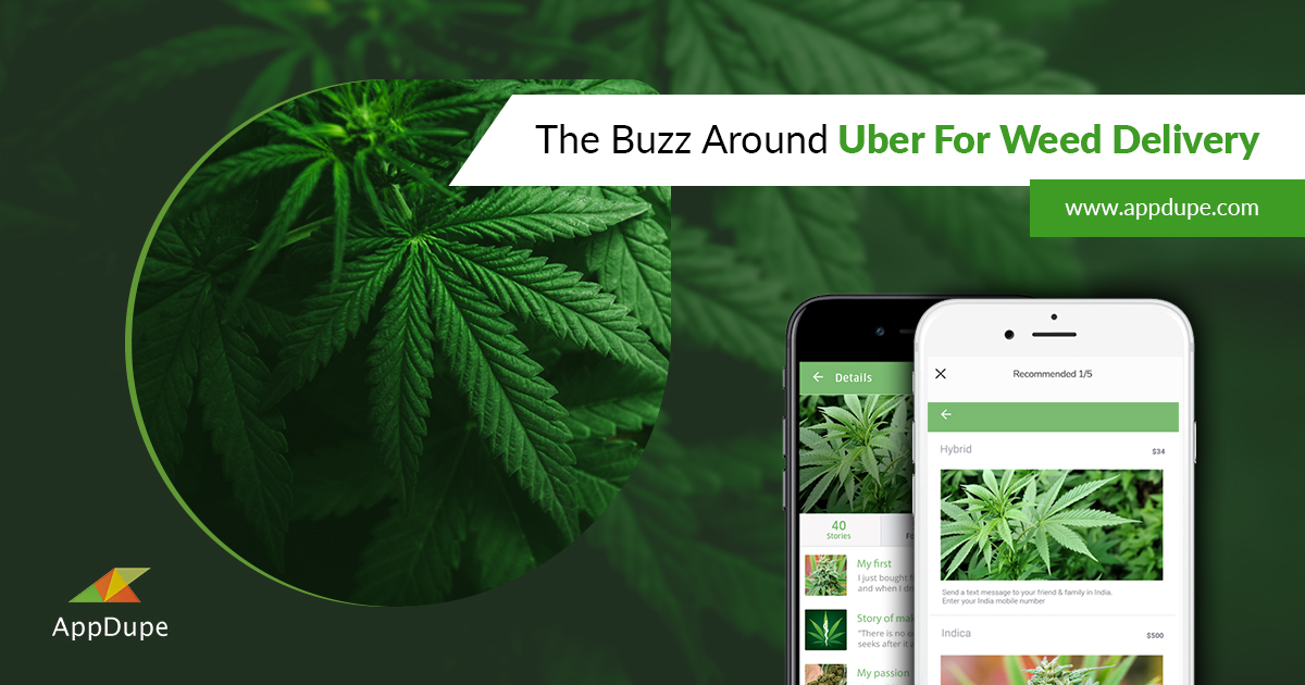 Uber for weed delivery