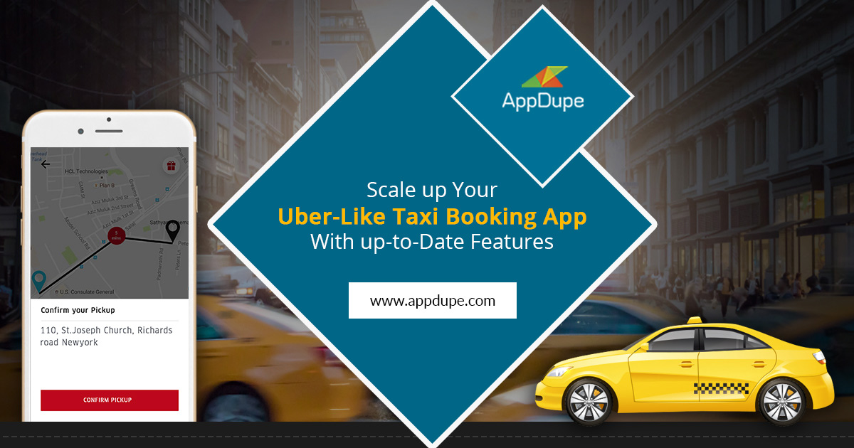 Scale Up Uber like App