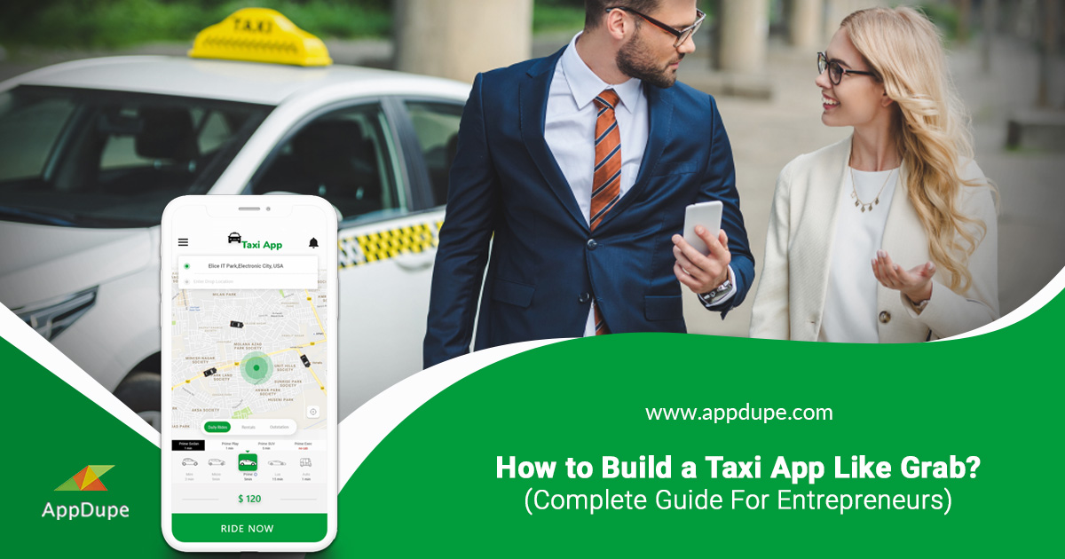 Build Taxi App Like Grab