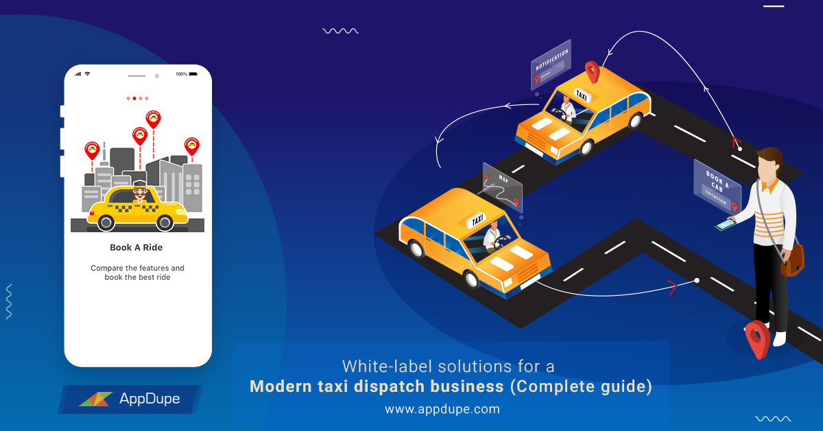 White label taxi solution