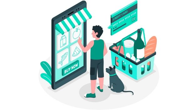 Grocery delivery concept