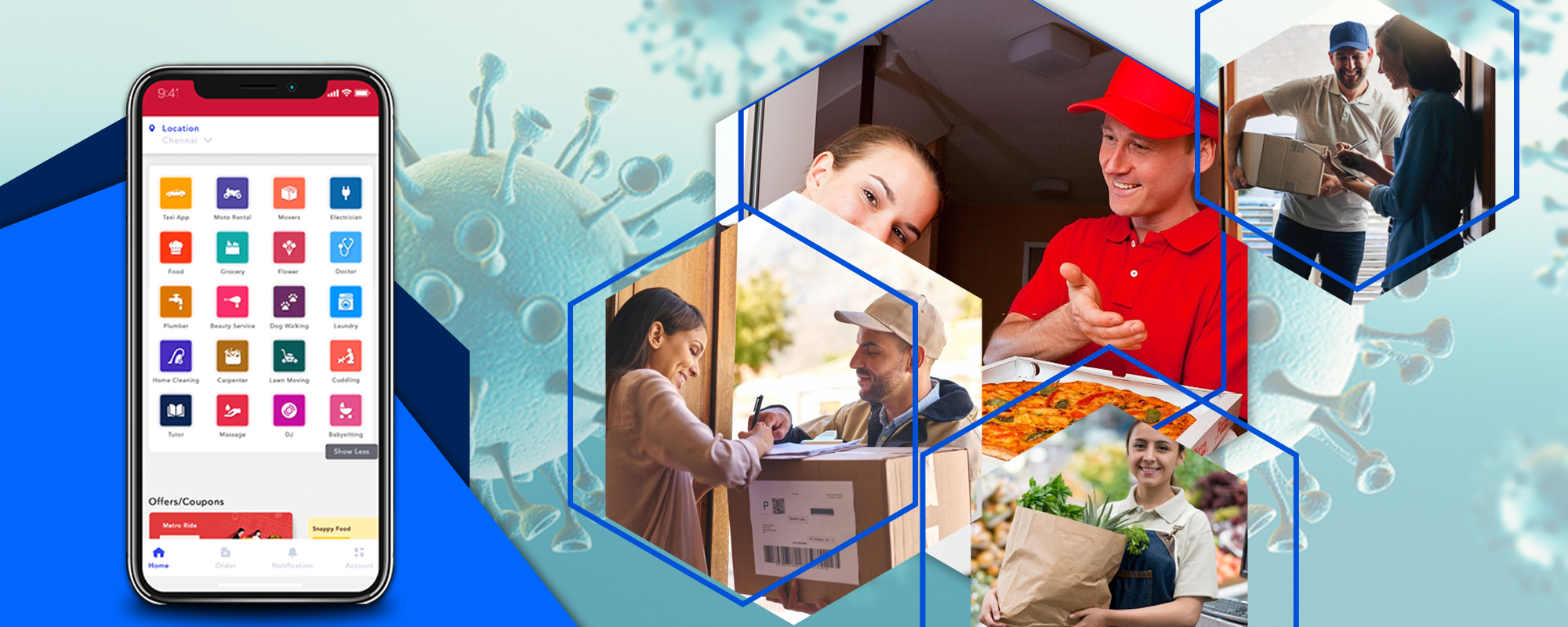 delivery apps in coronavirus pandemic