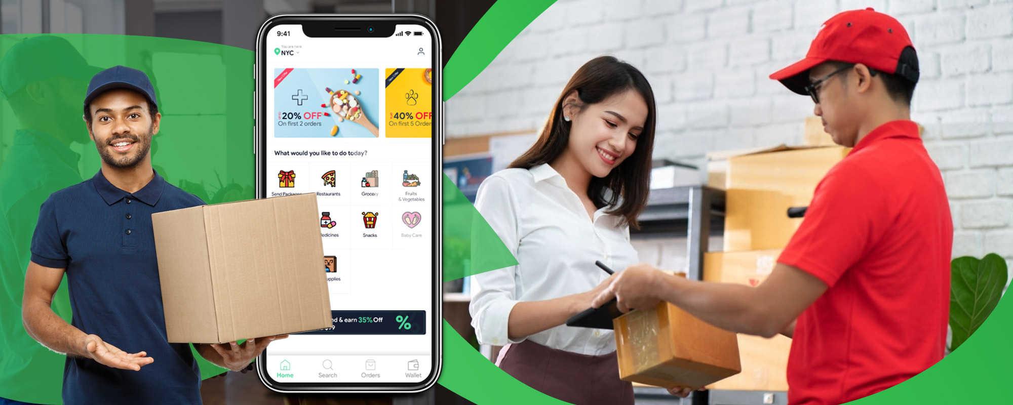 Delivery App COVID-19