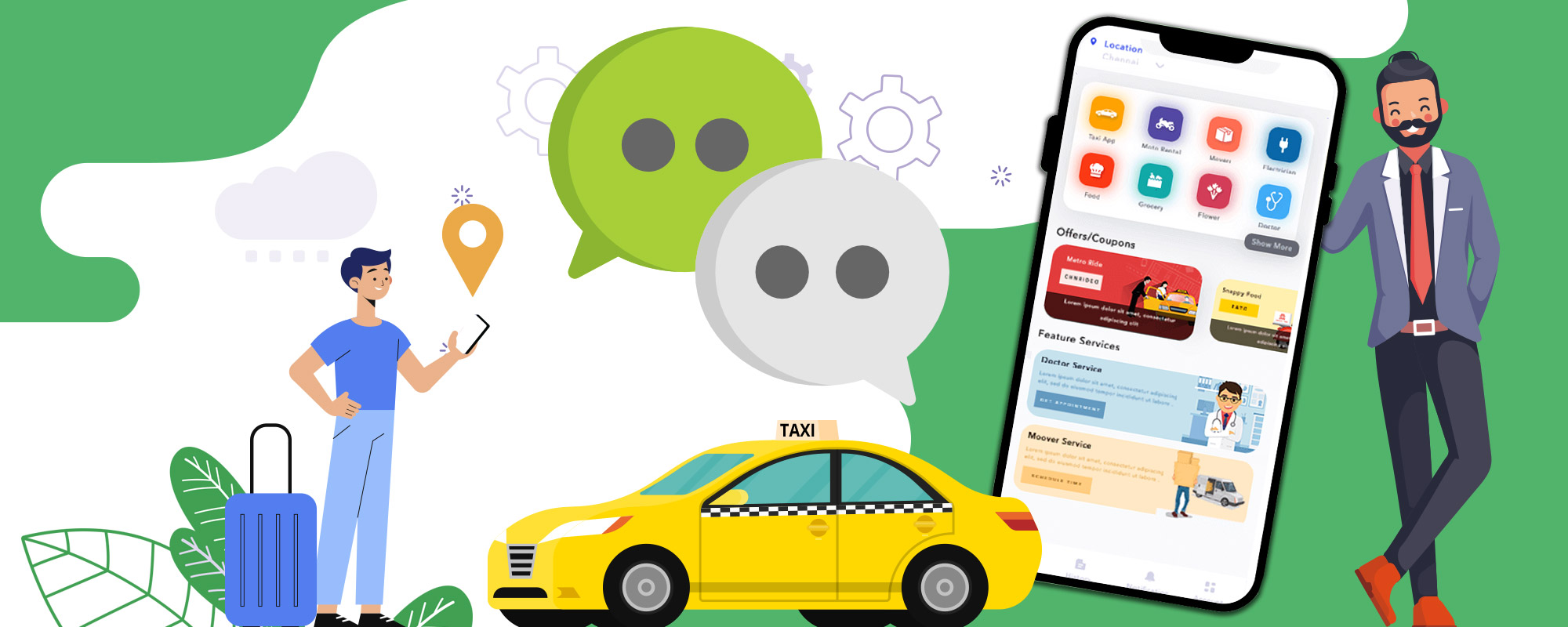 Launch Super app like Gojek, WeChat, Grab