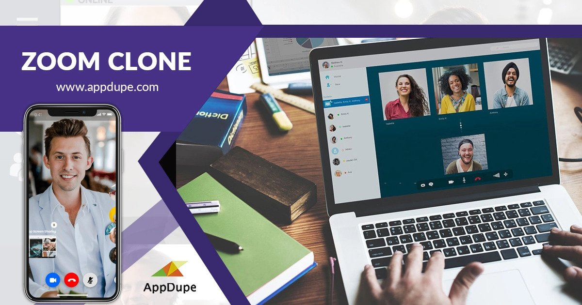 Zoom clone by Appdupe