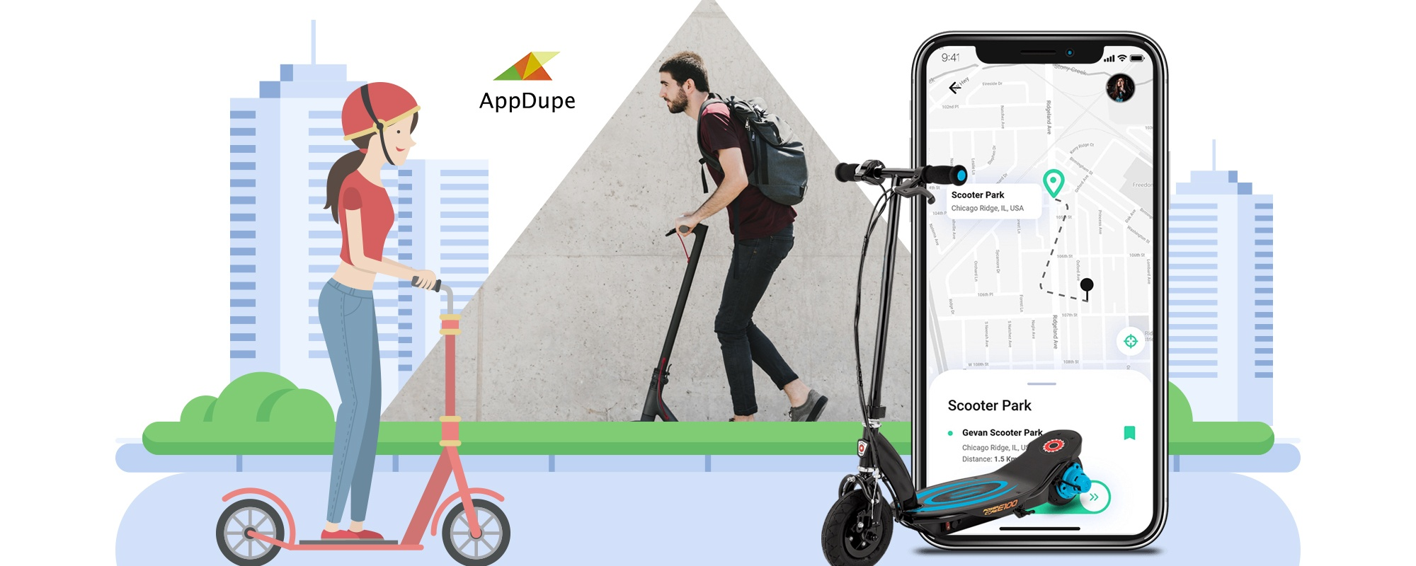 Launch Uber for E-scooter App