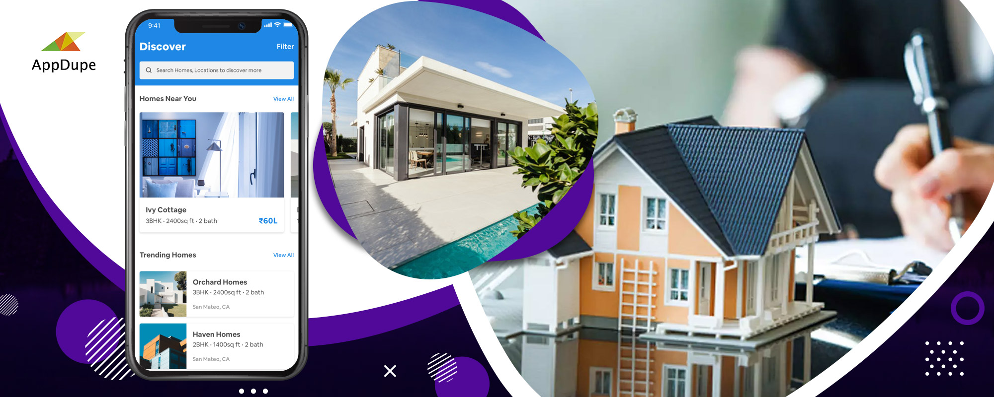 Build the Zillow clone app to expand your digital presence in the real estate sector