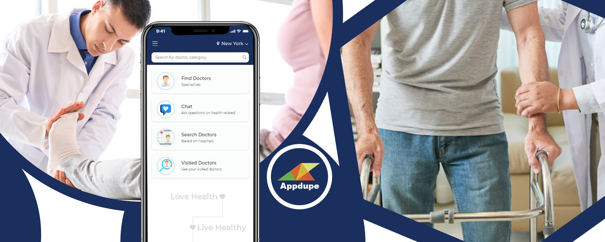 Develop an On-demand physiotherapy app solution