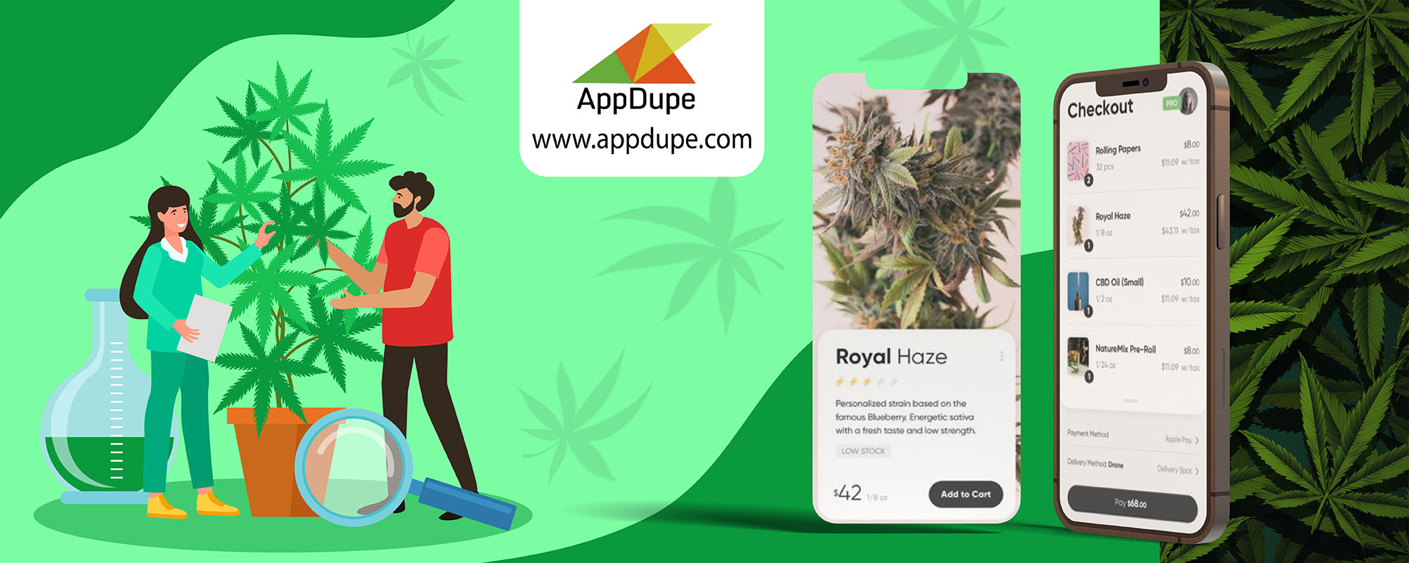 Leafly Clone