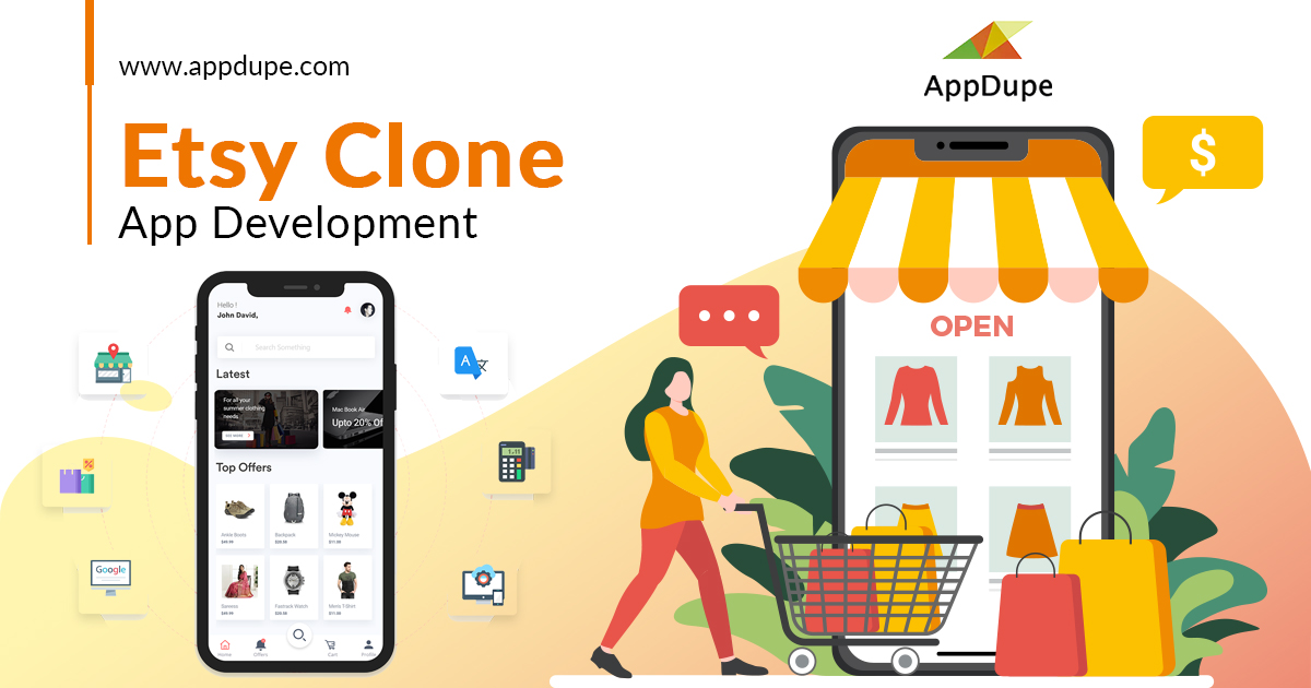 Etsy clone | Etsy clone app| Open Source Etsy Clone Script - AppDupe