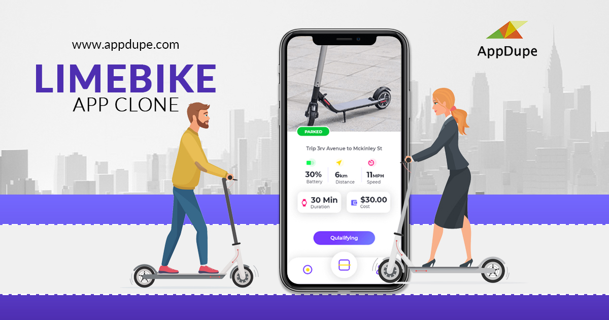 Roll out eco-friendly transportation services by launching the LimeBike clone