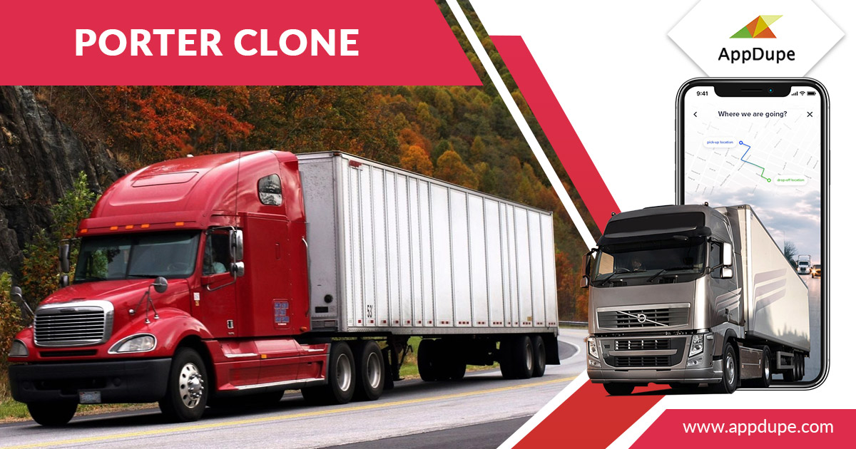 Provide one-stop shipment solutions using the porter clone app