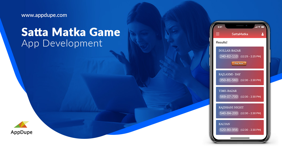 Satta Matka Game App Development | Satta Matka Game Software