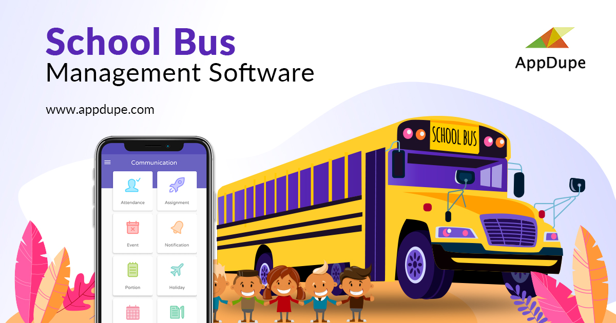 A well-crafted software to manage the school transportation activities