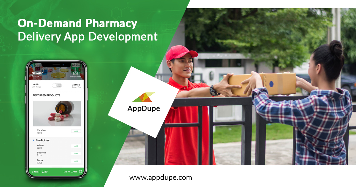 The renowned app development approach devoted to medicine delivery app