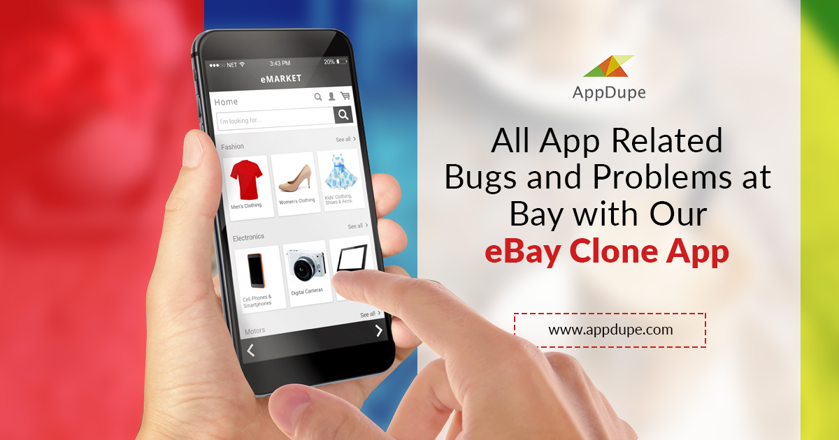 Build your online shopping app like eBay enriched with salient features