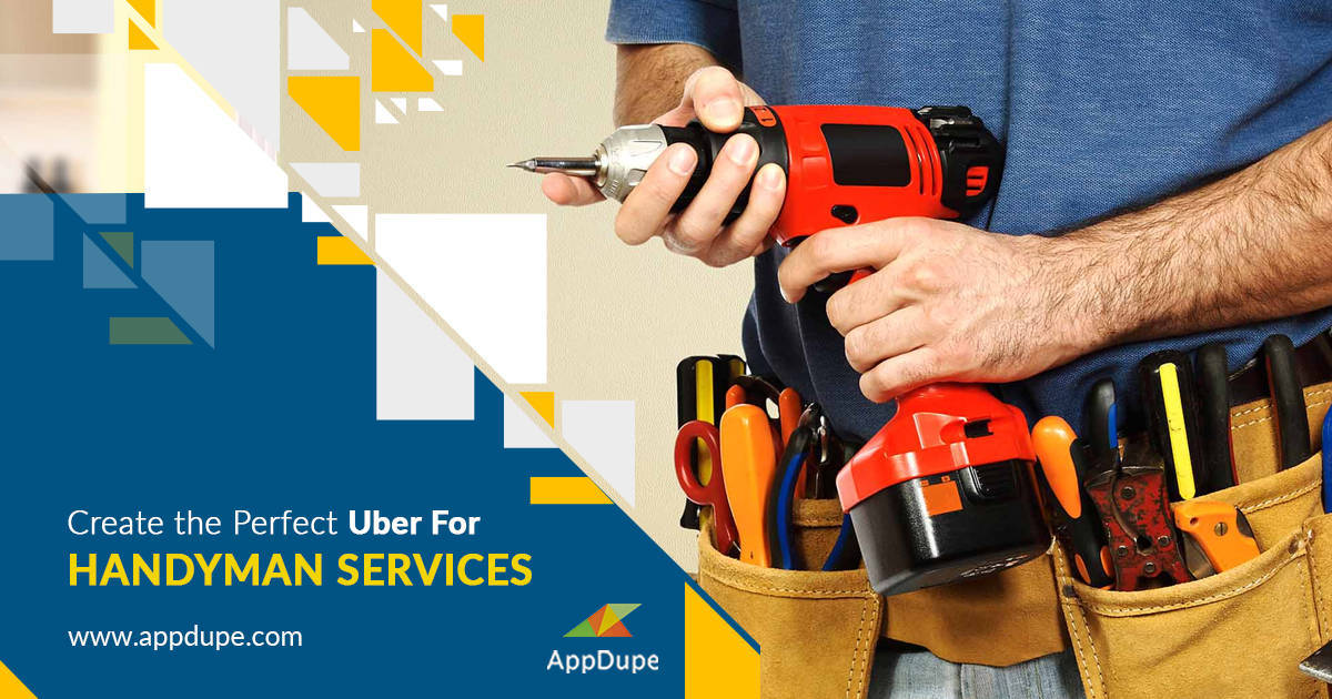 Uber for Handyman mobile app - Unbeatable home services app