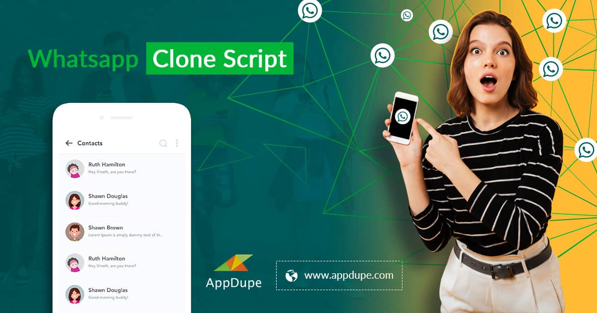 Launch An Alternative Messaging App For Whatsapp With Whatsapp Clone Script