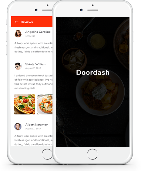 Doordash clone app