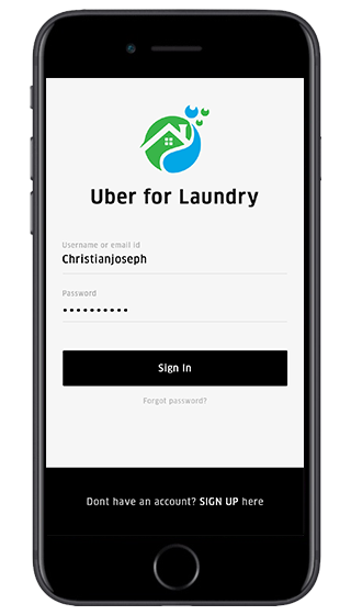Uber for Laundry App: One App Cleans All