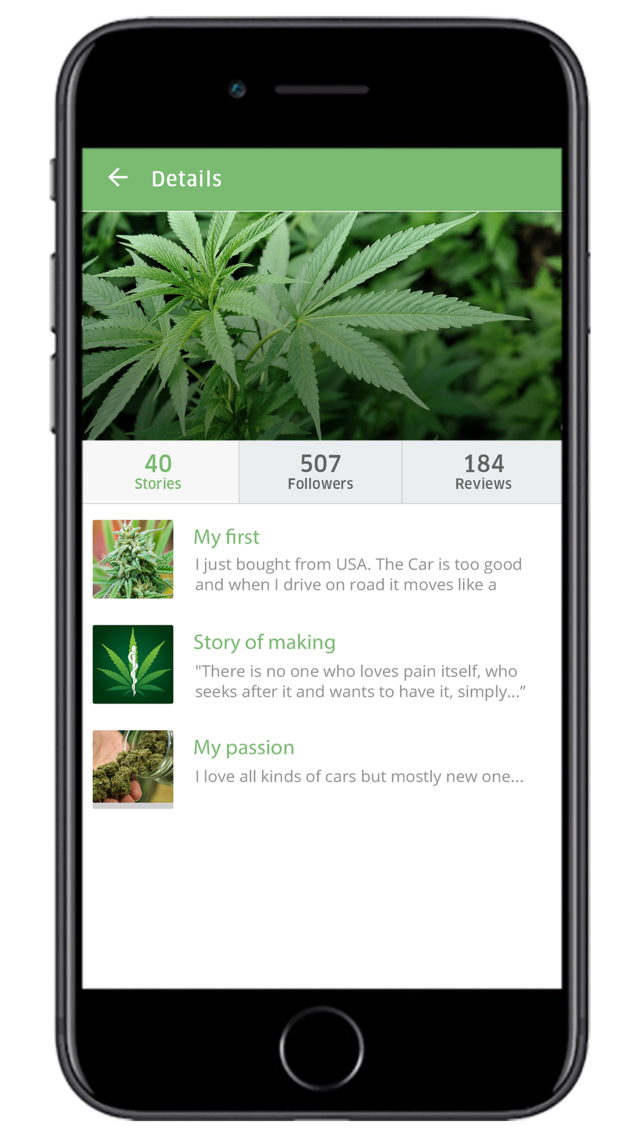Marijuana Delivery On Demand App