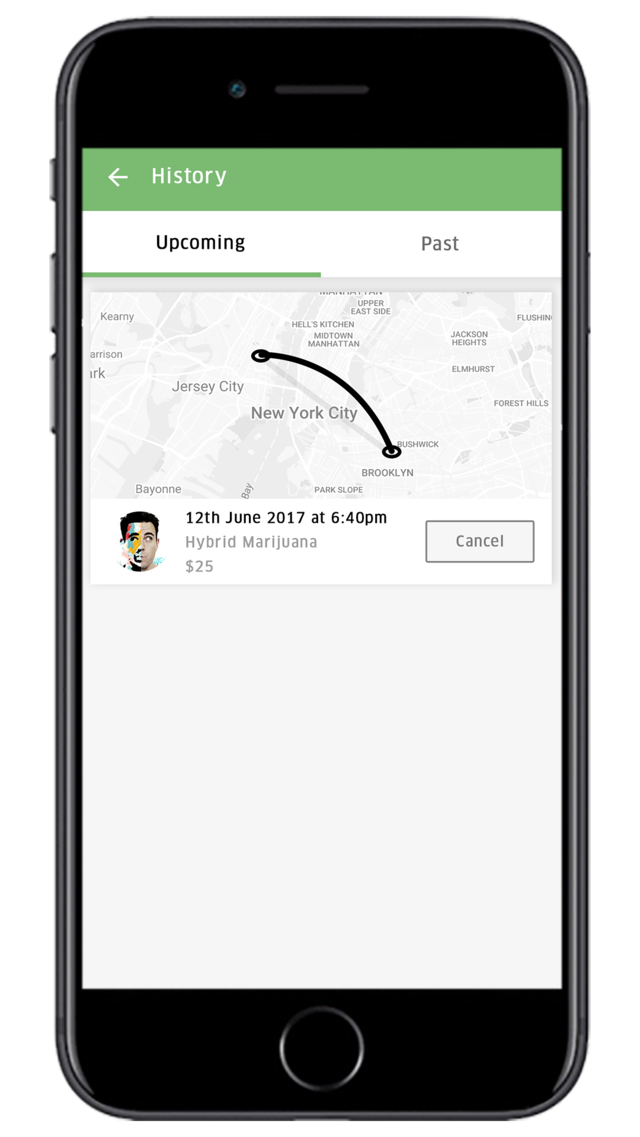 Uber for Medical Marijuana Delivery App
