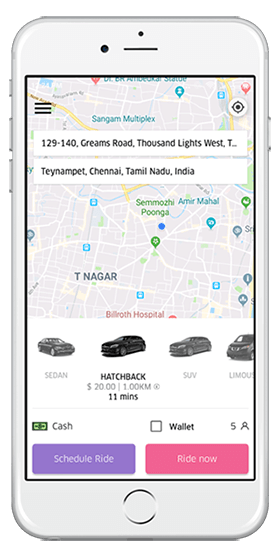 Taxi Booking App Development | On-Demand Taxi App Like Uber